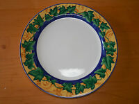 Victoria Beale Casual Yves 9034 Set Of 4 Dinner Plates 10 3/4 Blue Green Ivy A