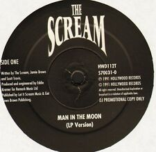 """THE SCREAM man in the moon HWD112T promo uk hollywood records 1991 12"""" WS EX/"""