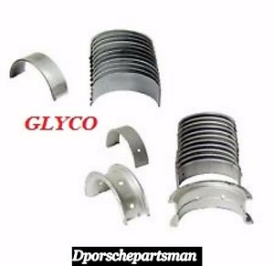 For Porsche 911 914 Main Bearing Set Standard OEM GLYCO 911 101 901 00