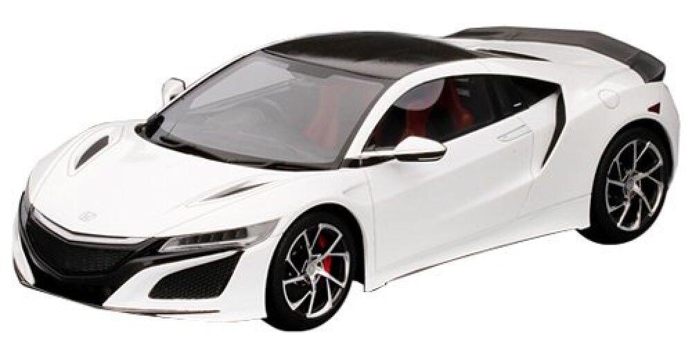 Top Speed  Honda NSX 2018 R Blancopaquete de fibra de carbono (RHD) Japón Nuevo