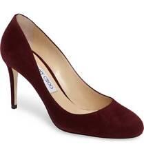 f66183e5134e item 1 NEW Jimmy Choo BRIDGET Round Toe Pump 85 Heel Shoe Purple Suede 39.5  - 9 -NEW Jimmy Choo BRIDGET Round Toe Pump 85 Heel Shoe Purple Suede 39.5 -  9