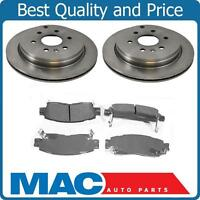 Rear Brake Rotors Ceramic Brake Pads For 07-16 Acadia Enclave Outlook Traverse
