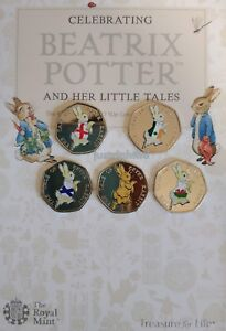 Peter-Rabbit-50p-Coin-4-Nations-England-Ireland-Scotland-Wales-Beatrix-Potter