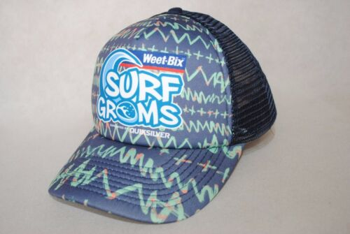 New Quiksilver Surf Groms Mesh Trucker Youth Boys/' Cap Adjustable 5-12 years