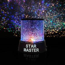 LED Sternenhimmel Projektor Lampe Nachtlicht Kinder Dekoration Star Master