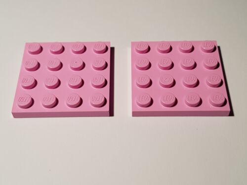 Bright Pink LEGO® 2 x 3031 Platte 4 x 4 hellrosa 6181831 #AC15