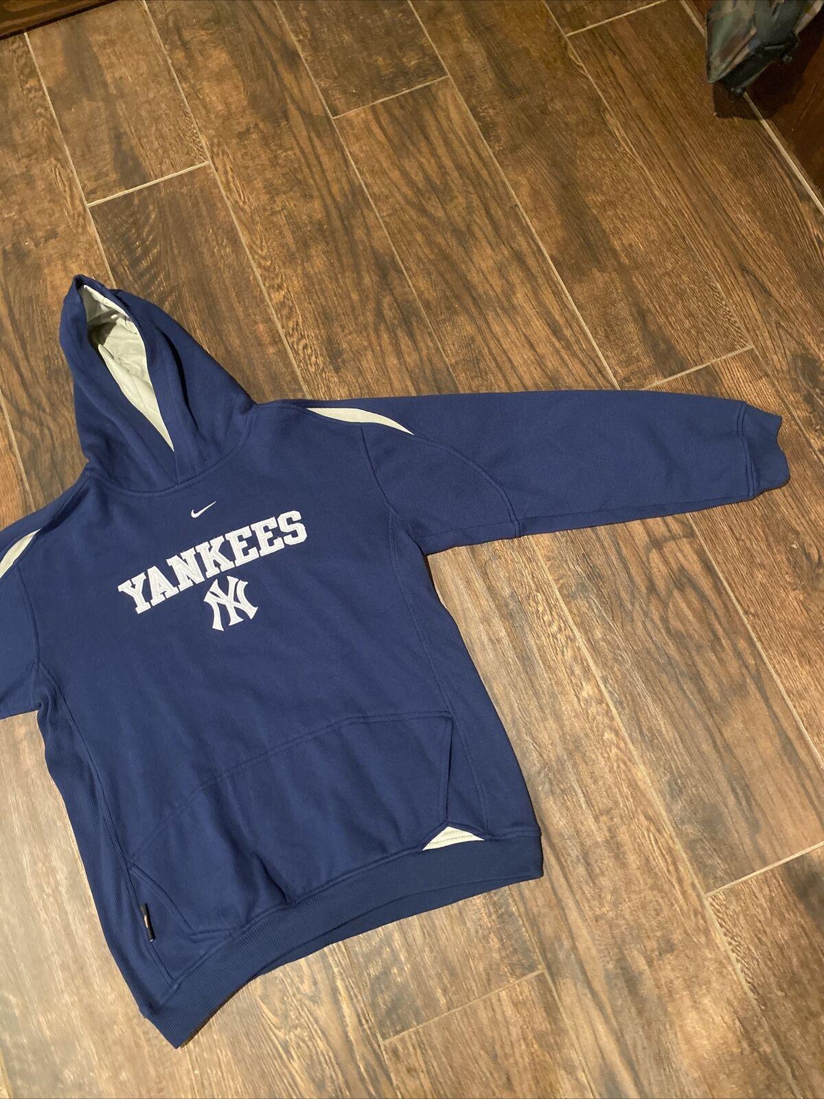 Vintage 90s Nike Center Swoosh New York Yankees H… - image 2