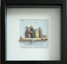 Regalo di nozze, Personalizzata Pebble Arte incorniciato-regalo di fidanzamento o anniversario