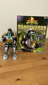 Mighty Morphin Power Rangers Legacy Dragonzord Bandai 2017  Loose Complete
