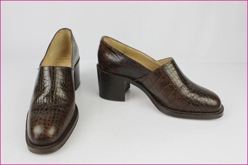 Zapatos FREE LANCE Todo Piel Marrón T 36 36 36 EXCELENTE ESTADO  grandes precios de descuento