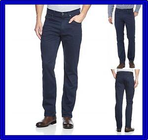3180df5227a443 Caricamento dell'immagine in corso Pantaloni-lee-uomo -Brooklyn-Regular-fit-Jeans-cotone-