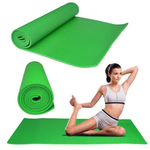 Gym Yoga Mats PVC ExcericeFiteness Soft Non Slip  8 mmThick