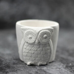 Nicole-Silicone-Concrete-Mold-3D-Owls-Shape-Flowerpot-Cement-Mould-Reusable-Tool