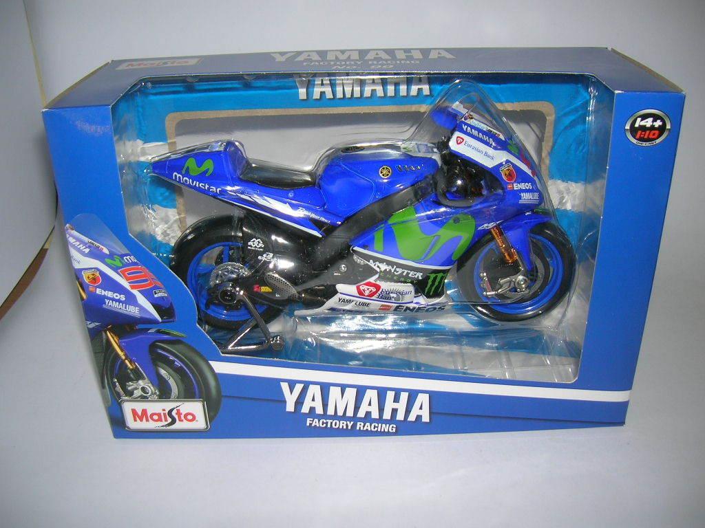 Maisto Yamaha YZR-M1 Moto GP 2016 Jorge Lorenzo  10