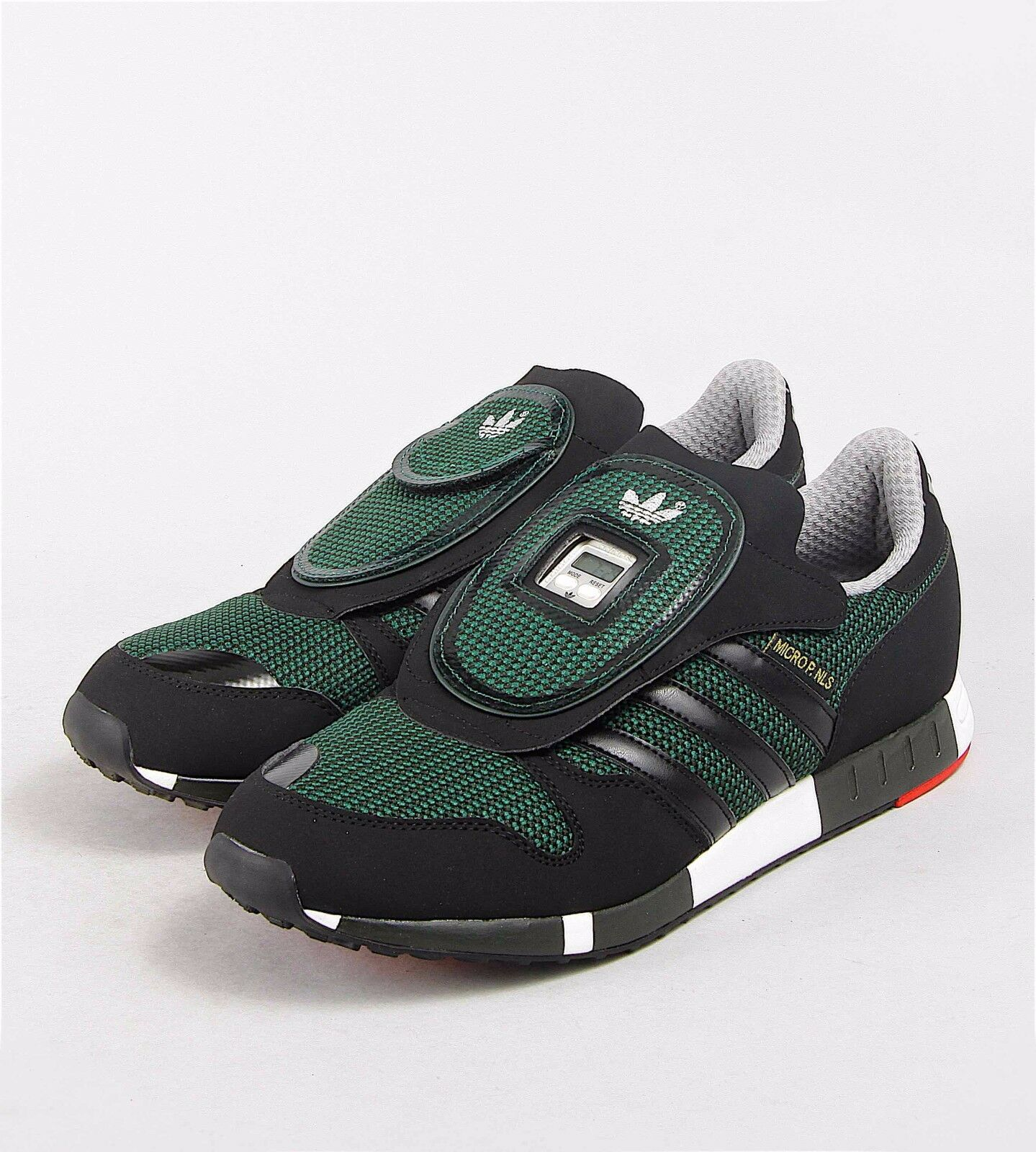 ADIDAS ORIGINALS MICROPACER OG MEN S SHOES SIZE US 12 UK 11.5 GREEN BLACK  S77306 30% acffadf69