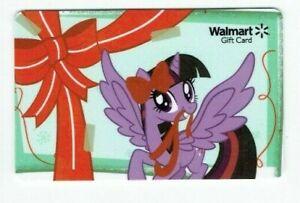 Walmart Gift Card - My Little Pony - Twilight Sparkle - Purple - No Value