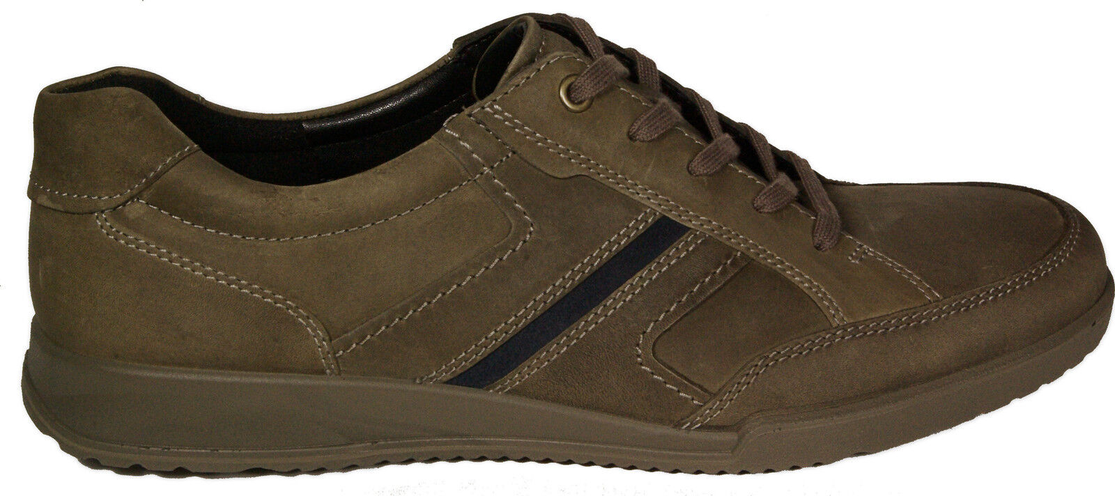 NEW ECCO Shoes Casual lace ups model TRANSPORTER lace up Grey oiled leather