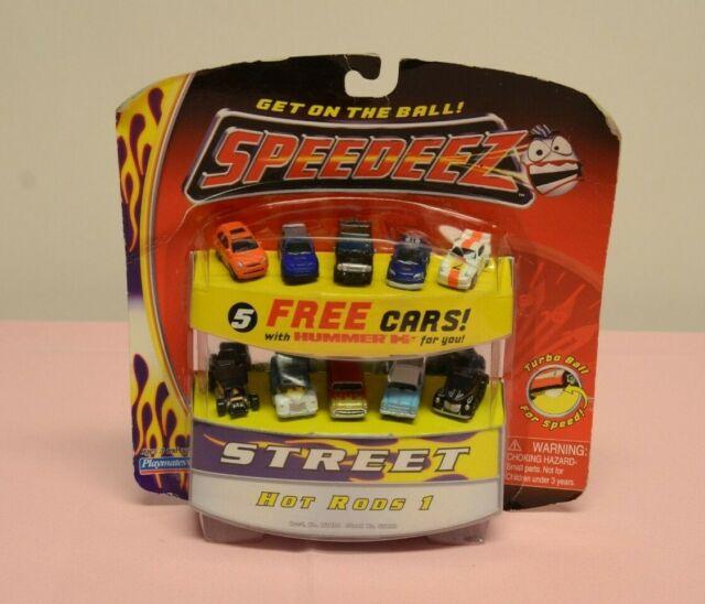 SPEEDEEZ Street Hot Rods 1 Micro Cars Playmates New 10 Cars