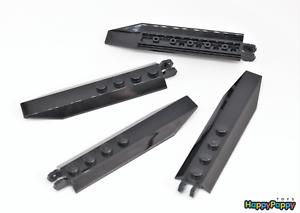 New Lego 4x Schanier 1x8 Schwarz Black Hinge Plate 14137 Neuware