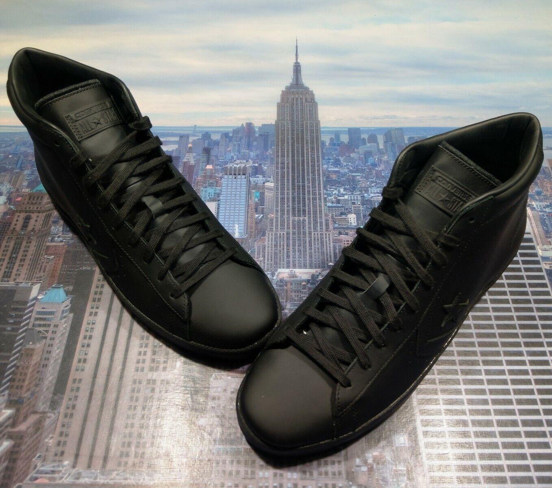 Converse Pro Leather PL 76 Mid Black White Men/'s Sizes Sneaker 157717C NIB