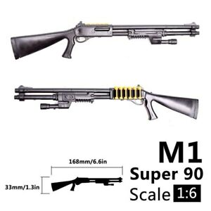 """1:6 Scale Weapon Model Call Of Duty Shotgun For 12/"""" Action Figure"""