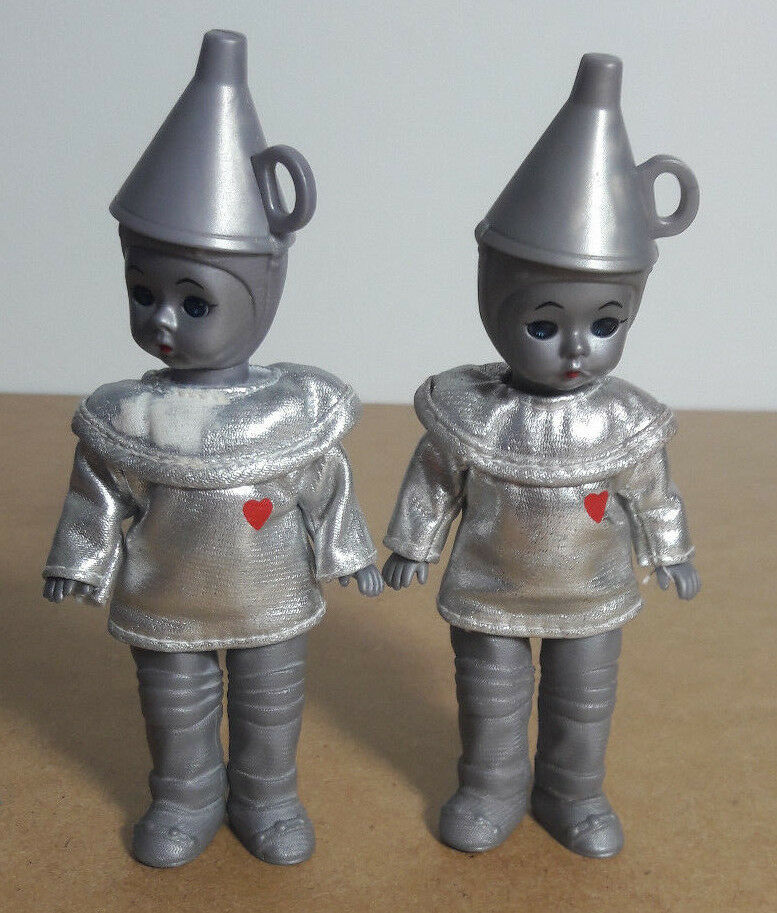 2 x TIN MAN MADAME ALEXANDER EXCLUSIVELY McDonald's Approx 5 1 2  2007