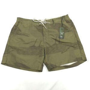 e34e4ca6b8 G-star Raw Men`s Islander Swim Shorts Size XL Green Camo Board Surf ...