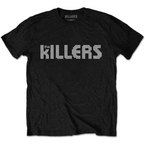 THE KILLERS T Shirt Dots Logo Brandon Official Unisex New Size S M L XL XXL