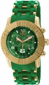 wachawant-Invicta-19786-Sea-Spider-50mm-Gold-Case-Green-Dial-Swiss-Men-039-s-Watch