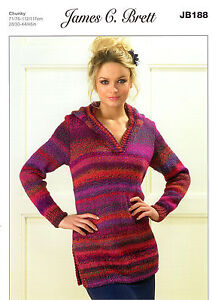 a45b95e64 Image is loading Ladies-Sweaters-JB188-Knitting-Pattern-in-James-C-