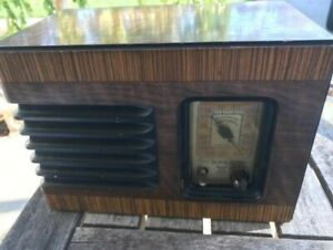 Antique-DeWald-Tube-Radio-Superheterodyne