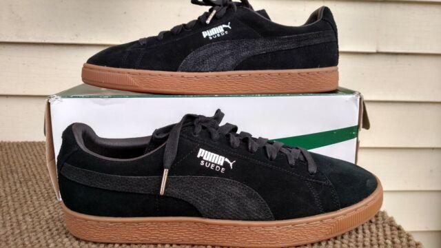 12 Citi Suede Puma Classic Black Sneakers Lace Mens Shoes Up edCBxWro