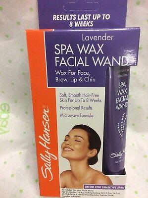 Sally Hansen Lavender Spa Wax Facial Wand # 5043 Eyebrow Lip Chin