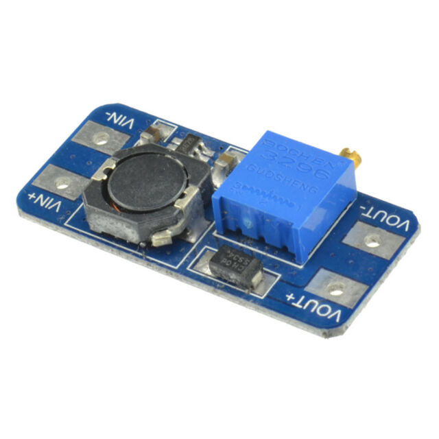 5PCS MT3608 2A DC-DC Step Up Power Apply Module Booster Power Module for Arduin