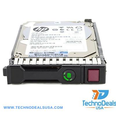 HPE 652583-B21 653957-001 600GB 6G SAS 10K 2.5 SC Enterprise Hard Drive New