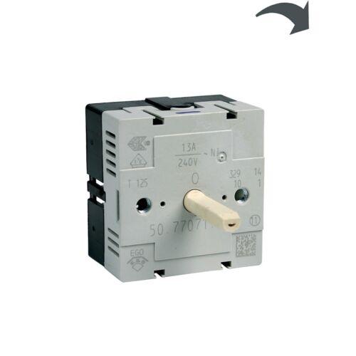 Kochplattenschalter Einkreis Kochfeld Original Electrolux 3890824018 ee ep ekc