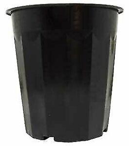 Active-Aqua-Hydrofarm-Hg16Qbk-16-Quart-Black-Plastic-Bucket-Pack-of-50