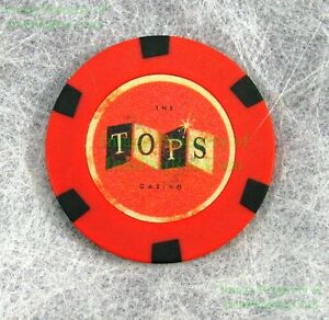 FALLOUT-New-Vegas-Collector-039-s-Edition-THE-TOPS-Casino-Chip-REPLACE-Your-LOST-1