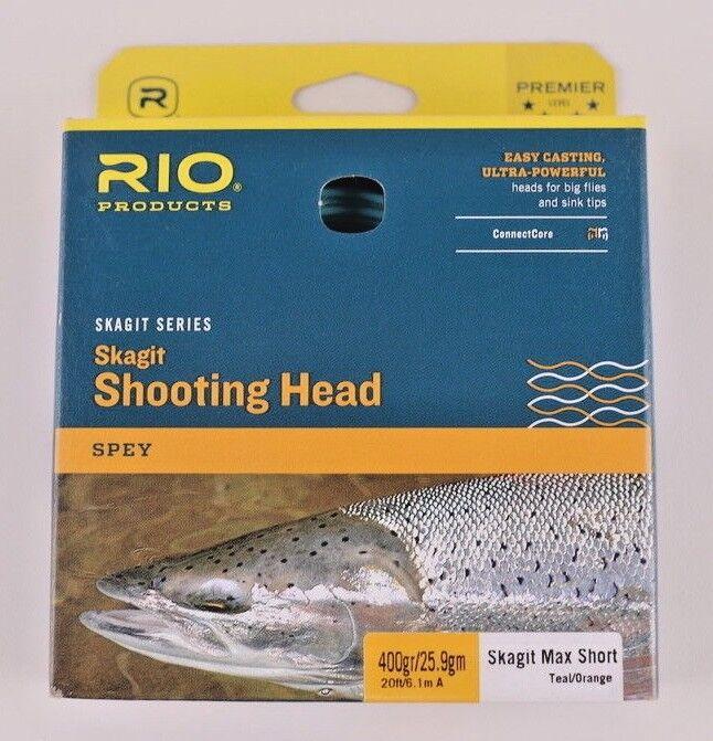Rio Skagit Max Short 400 Grain Shooting Head Free Fast Shipping 6-20988