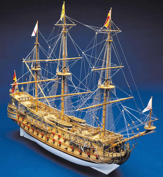 "Genuine, high quality Panart wooden ship kit: the ""San Felipe"""