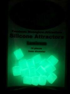 Moonglow-silicona-luminosa-attractors-pesca-granos-suave-brillan-en-la-oscuridad