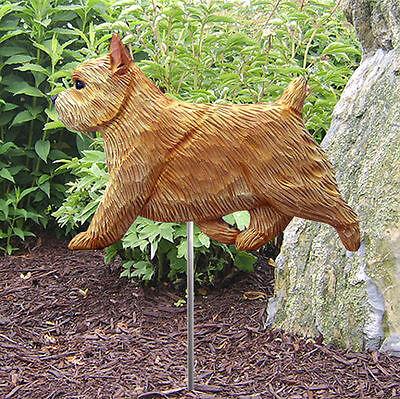 Hand Made WHEATEN TERRIER DOG GARDEN Stake Weathervane ~NEW~