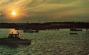 Postcard-Sunrise-at-Wells-Harbor-Maine