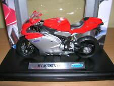 Welly MV Agusta F4S rot silber red silver Motorrad Motorbike Moto, 1:18