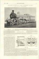 1898 Express Locomotive Great Northern Railway Ivatt Doncaster Proctor Coking St