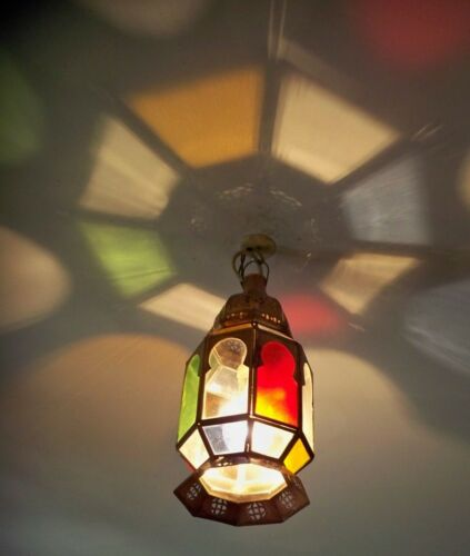 lanterne Lustre plafonnier marocain fer forgé g lampe applique orient suspension