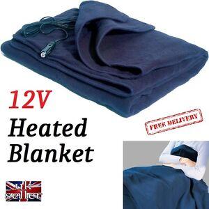 Motorhome 12v Electric Blanket Long Travel 12 Volt