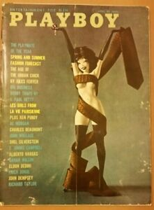 Playboy-April-1961-GOOD-CONDITION-Free-Shipping-USA