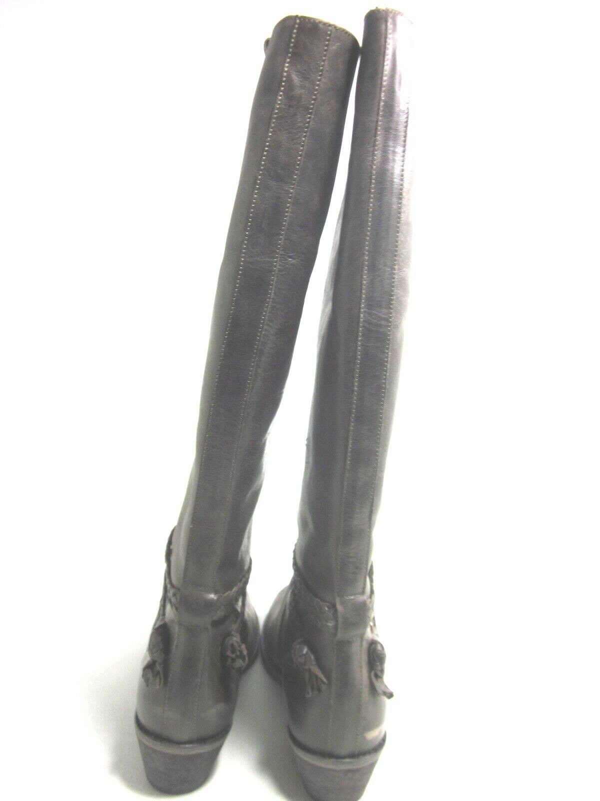 Charles David para mujer Rover mitad de la Marrón, Pantorrilla Bota, Cuero Marrón, la US tamaño 10 medio dce41a