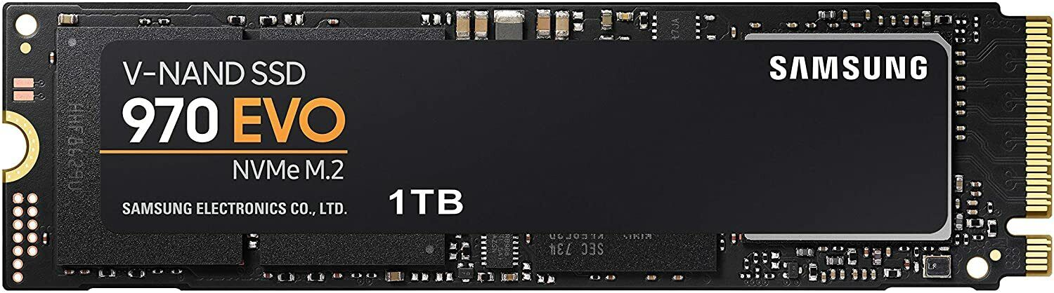 Samsung 970 EVO 1TB SSD Internal M.2 NVMe (MZ-V7E1T0BW) Solid State Drive New. Buy it now for 143.95